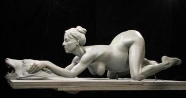 Britney nude statue pics