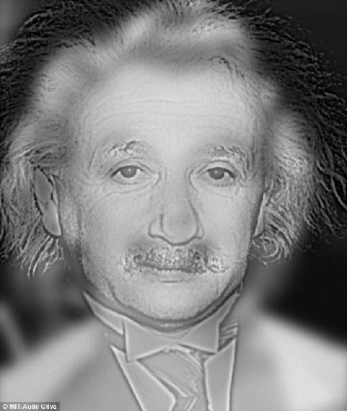 你看到爱因斯坦还是梦露?