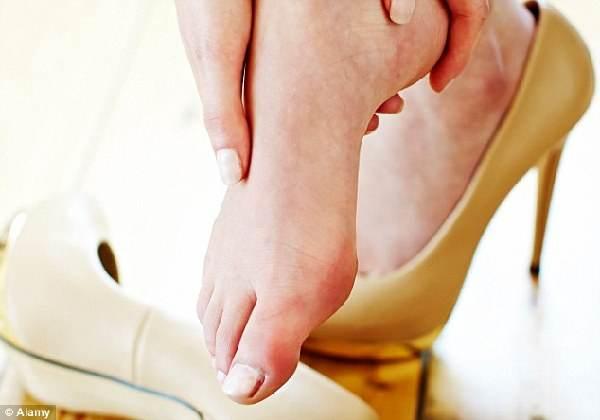 科普:长期穿高跟鞋会损害双脚