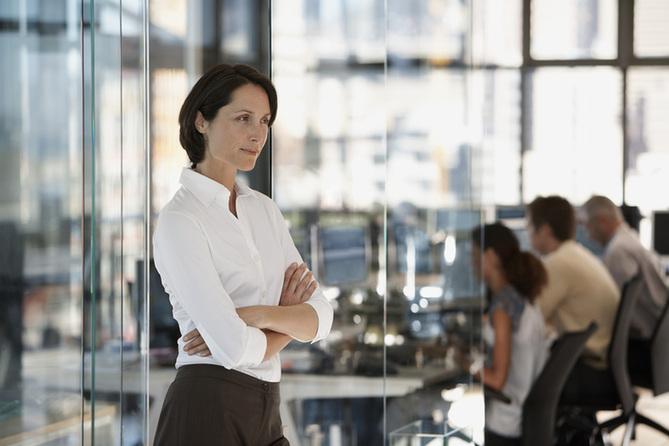 高职务强势女性越来越苗条?