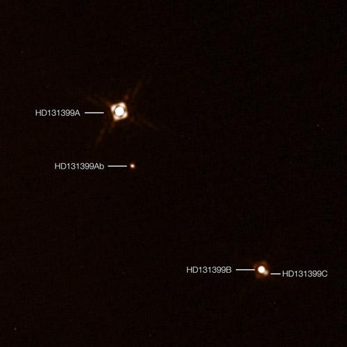 """""""三体""""真实存在:科学家发现拥有三颗太阳的行星"""