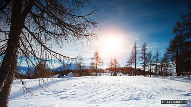 Learning English: English Quizzes – Winter words: Images/Getty