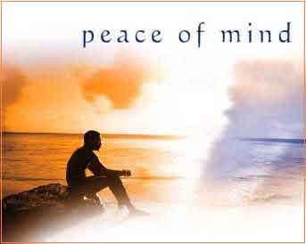 On peace of mind 心如止水