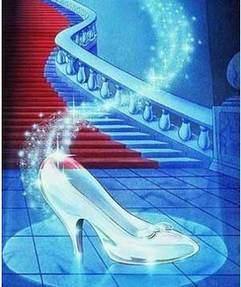 Crystal shoes of Cinderella 水晶鞋