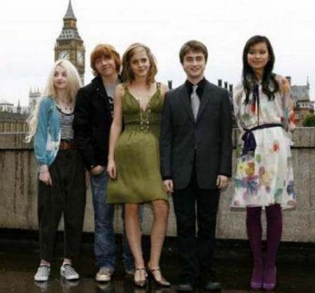 哈利·波特魔法三人组十年友谊回顾