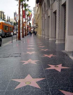 好莱坞明星大道