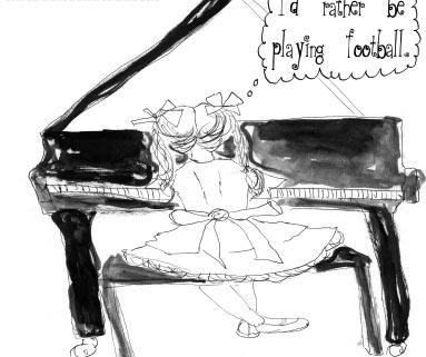 我讨厌钢琴课-英语点津