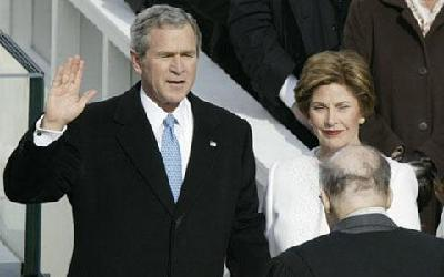 American history: George W. Bush re-elected
