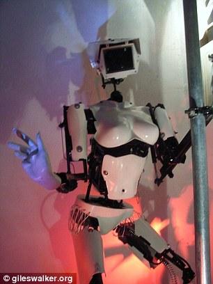 最性感机器人:会跳钢管舞