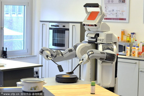 Robots Gaining Ground in Kitchens