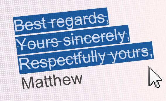 Ending Letter Christian Regards