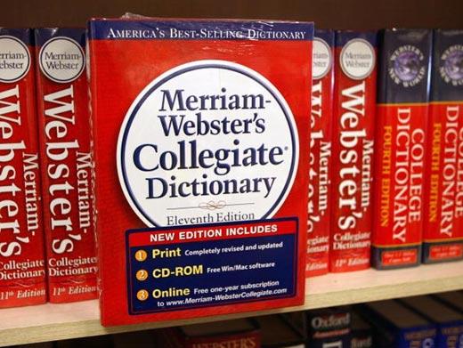 """韦氏词典宣布将""""主义""""选为2015年年度词汇"""