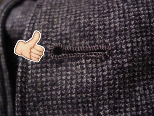 14招教你快速识别衣服质量