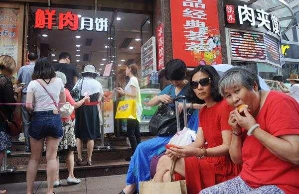上海另类月饼受热捧