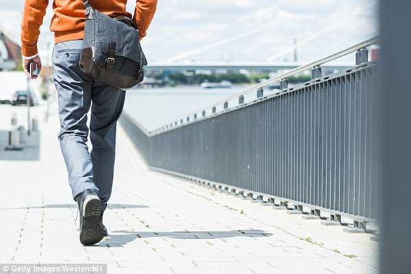研究:走路姿势也能暴露性格