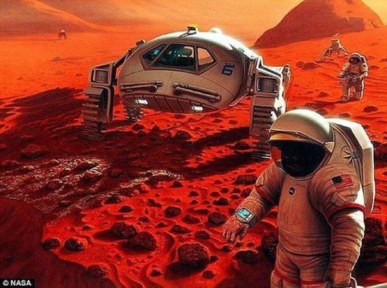 奥巴马发文章:2030年前送人类上火星并安然无恙返回地球
