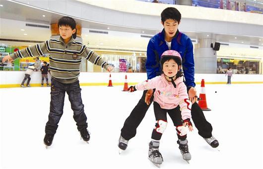 北京拟将冰雪项目列入中小学体育必修课