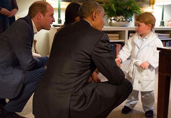 乔治王子的睡袍