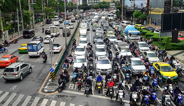 全球交通拥堵排行榜出炉:泰国曼谷居首
