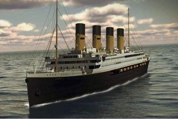 外媒盘点十大复制景点 泰坦尼克二号居首
