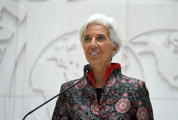 拉加德:IMF总部十年内或将迁至北京