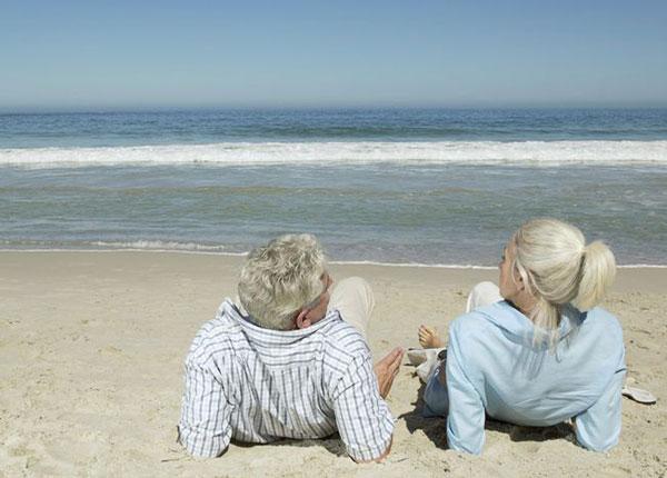 去海边安度退休生活