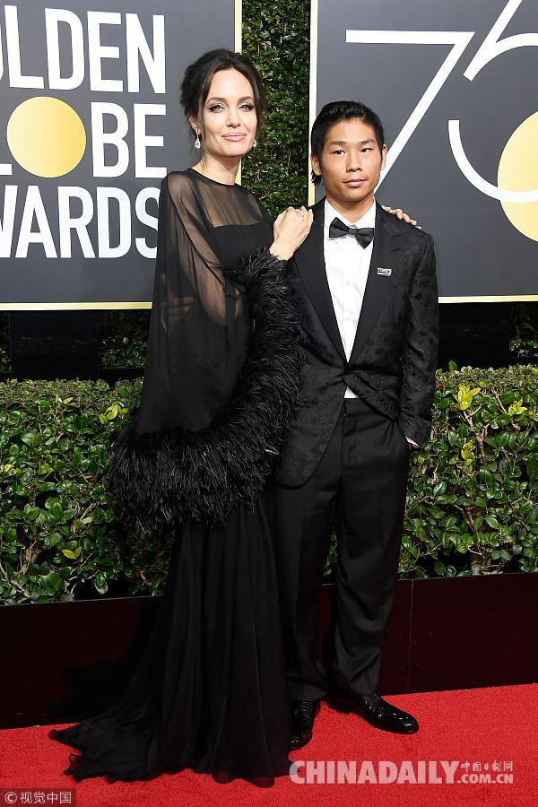 第75届金球奖颁奖典礼举行 众星着黑色礼服闪耀登场