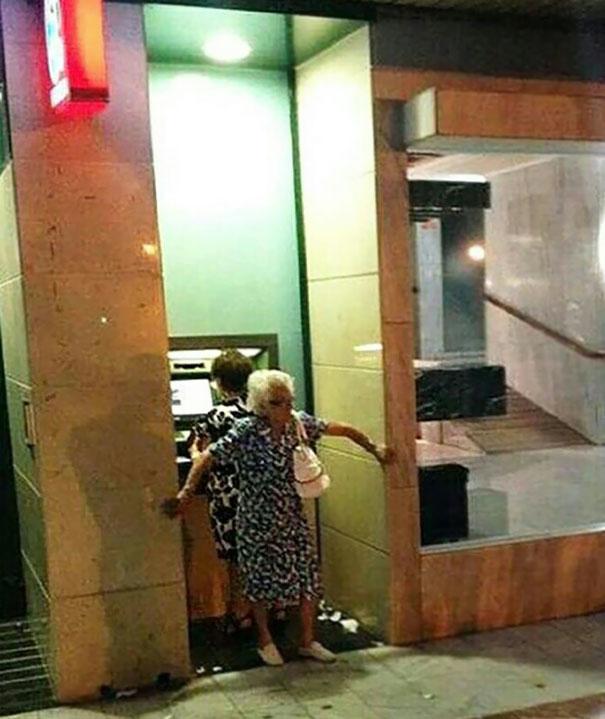 ATM Security Level: Grandma