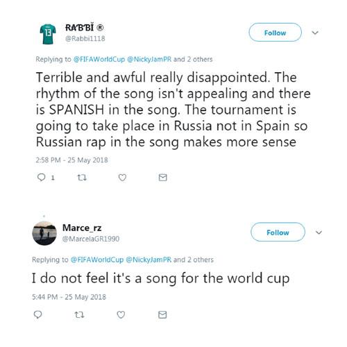 2018世界杯主题曲《放飞自我》发布!网友:这歌一点也不俄罗斯