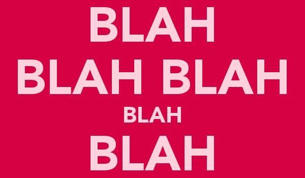 英文口语中有趣的叠词