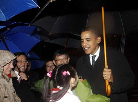 奥巴马在中国的弟弟_奥巴马访华 欢迎中国强大