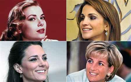 王室成员美女榜 凯特挤走戴安娜排第三
