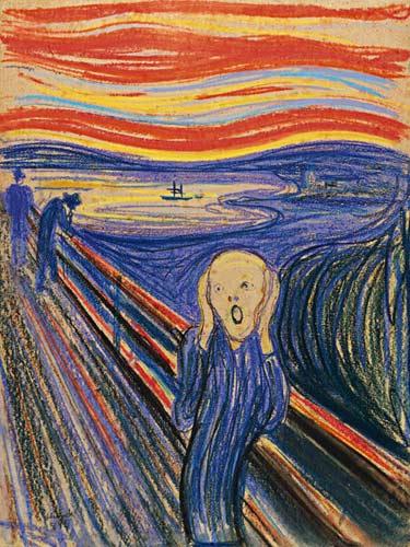 名画《呐喊》将拍卖 估价超八千万美元-英语点津 - tuotuofly - 墨·色