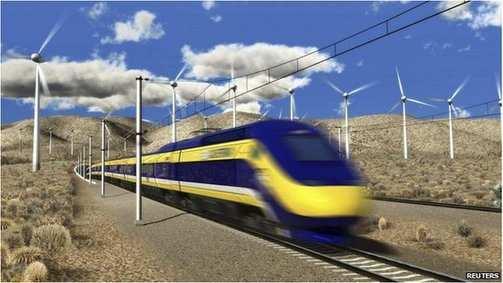 加州将建美国首条高铁