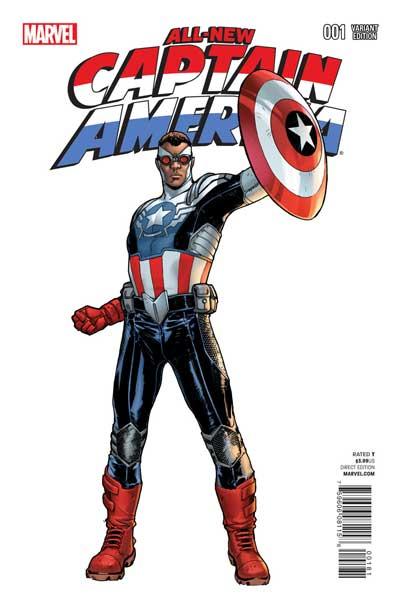 美国队长变黑人? 漫画英雄迎来多元时代